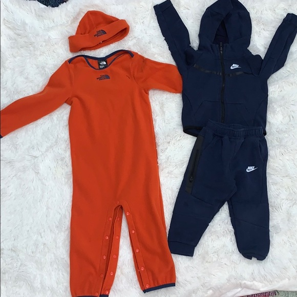 Nike Matching Sets Both Worn Only Once Nike Tech The North Face Poshmark